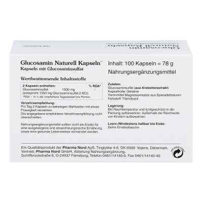 Glucosamin Naturell Kapseln