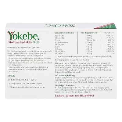 Yokebe Plus Stoffwechsel aktiv Kapseln  bei apotheke.at bestellen
