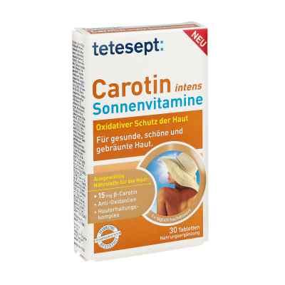 Tetesept Carotin intens Sonnenvitamine Filmtabletten