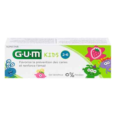 Gum Kids Zahncreme Erdbeere 2-6 Jahre  bei apotheke.at bestellen