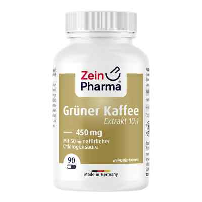 Grüner Kaffee Extrakt 450 mg Kapseln