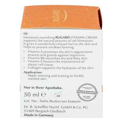 Rugard Vitamin Creme Gesichtspflege  bei apotheke.at bestellen