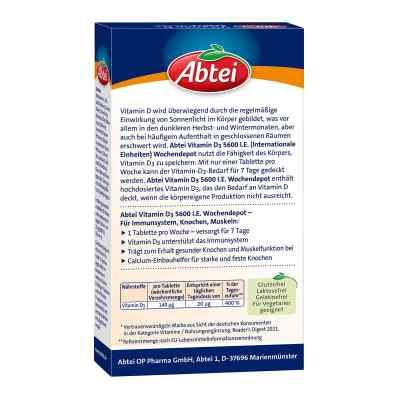 Abtei Vitamin D3 5.600 I.e. Wochendepot Tabletten