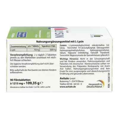 L-lysin 750 mg Tabletten  bei apotheke.at bestellen