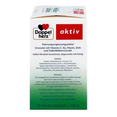 Doppelherz Heisser Salbei+honig+menthol Granulat