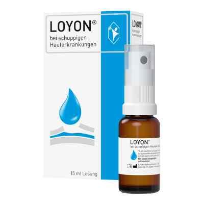 Loyon bei schuppigen Hauterkrankungen Lösung