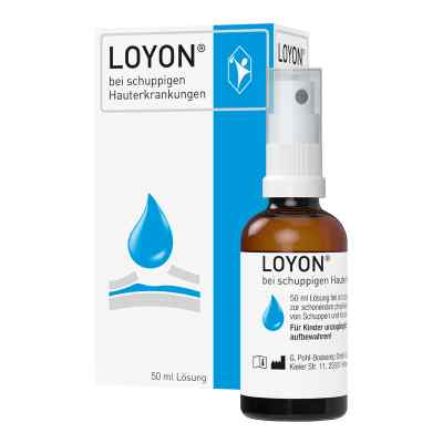 Loyon bei schuppigen Hauterkrankungen Lösung  bei apotheke.at bestellen