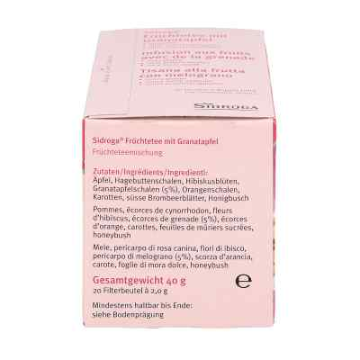 Sidroga Wellness Früchtetee mit Granatapfel Filterb.  bei apotheke.at bestellen