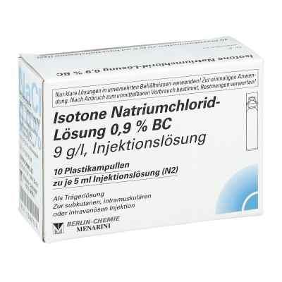 Isotone Nacl Lösung 0.9% Bc Plastik amp.inj.-lsg.  bei apotheke.at bestellen