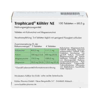 Trophicard Köhler Ne Tabletten