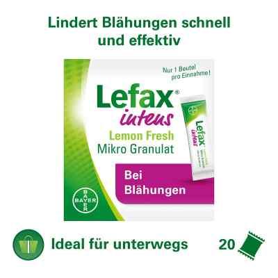Lefax intens Lemon Fresh Mikro Granul.250 mg Sim.  bei apotheke.at bestellen