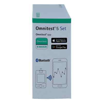 Omnitest 5 Blutzucker Messgerät Set mmol/l weiss  bei apotheke.at bestellen