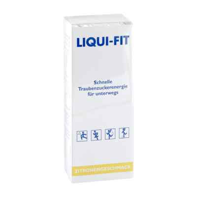 Liqui Fit Lemon flüssige Zuckerlösung Beutel
