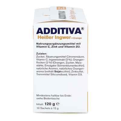 Additiva Heisser Ingwer+orange Pulver  bei apotheke.at bestellen