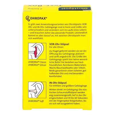 Ohropax Test-box 3 Sorten Ohrstöpsel  bei apotheke.at bestellen