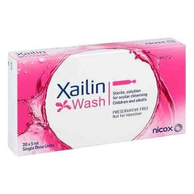 Xailin Wash Augenspüllösung in Einzeldosen