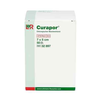 Curapor Wundverband steril chirurgisch 5x7 cm