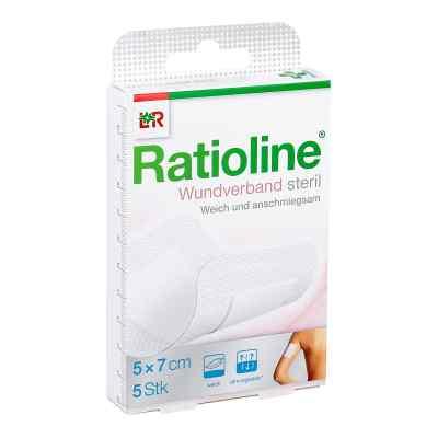 Ratioline acute Wundverband 5x7 cm steril  bei apotheke.at bestellen