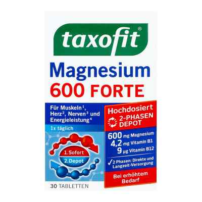 Taxofit Magnesium 600 Forte Depot Tabletten  bei apotheke.at bestellen