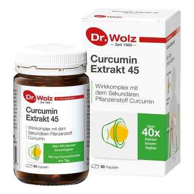 Curcumin Extrakt 45 Doktor wolz Kapseln  bei apotheke.at bestellen