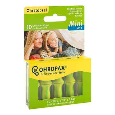 Ohropax mini soft Schaumstoff Stöpsel  bei apotheke.at bestellen