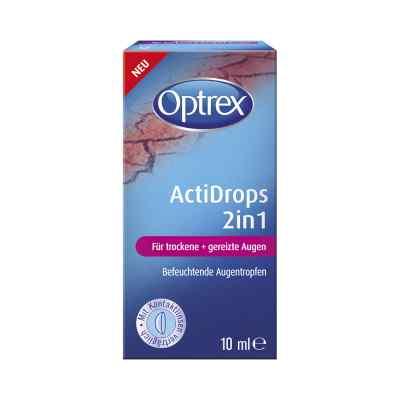 Optrex Actidrops 2in1 für trockene+gereizte Augen  bei apotheke.at bestellen