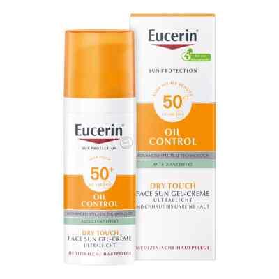Eucerin Sun Gel-creme Oil Contr.anti-gl.eff.lsf50+  bei apotheke.at bestellen