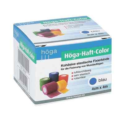 Höga Haft Color Fixierbinde 4 cmx4 m blau