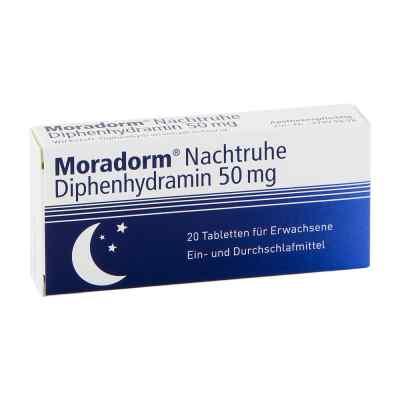 Moradorm Nachtruhe Diphenhydramin 50mg  bei apotheke.at bestellen