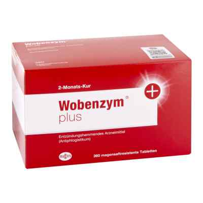 Wobenzym plus magensaftresistente Tabletten  bei apotheke.at bestellen