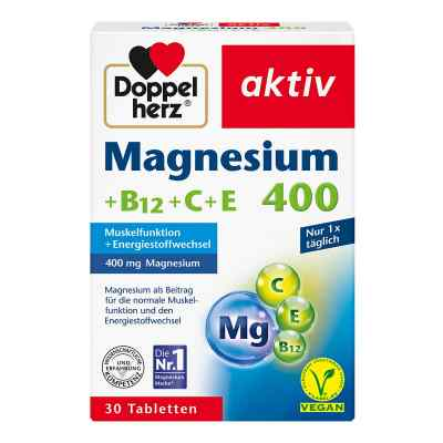 Doppelherz Magnesium 400+b12+c+e Tabletten