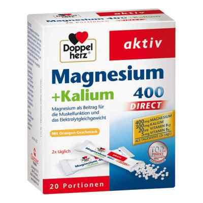 Doppelherz Magnesium+kalium Direct Portionsbeutel