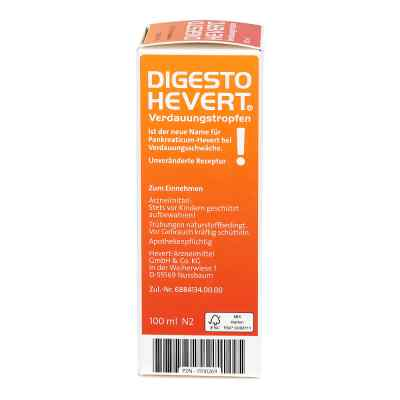 Digesto Hevert Verdauungstropfen  bei apotheke.at bestellen