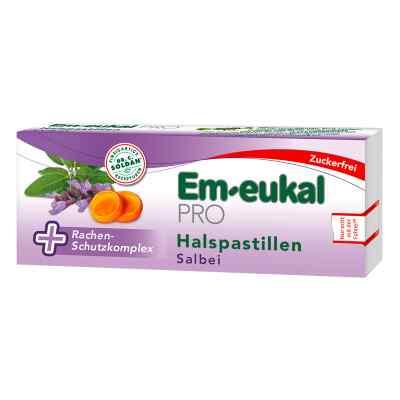 Em Eukal Pro Halspastillen Salbei zuckerfrei