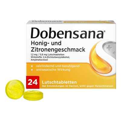 Dobensana Honig und Zitronengeschmack 1,2mg/0,6mg
