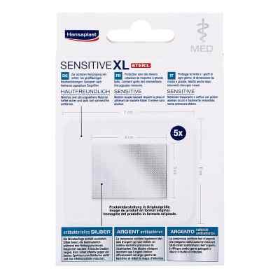 Hansaplast med sensitive Xl Pflaster 6x7 cm  bei apotheke.at bestellen