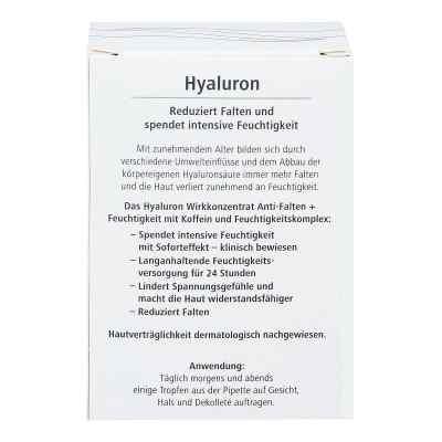 Hyaluron Wirkkonzentrat Anti-falten+feuchtigkeit  bei apotheke.at bestellen