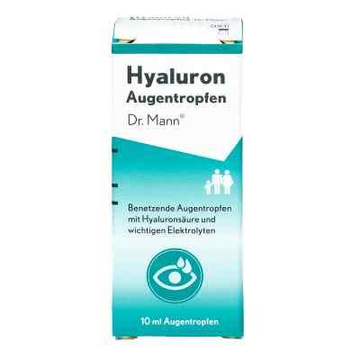 Hyaluron Augentropfen Doktor mann