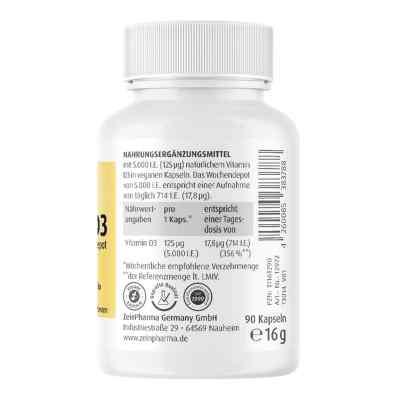 Vitamin D3 5.000 I.e. Wochendepot Kapseln