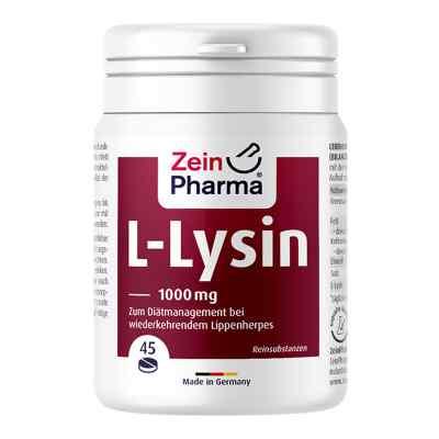 L-lysin 1000 mg Zitrone Kautabletten  bei apotheke.at bestellen