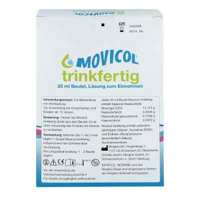 Movicol trinkfertig 25 ml Beutel Lösung zur, zum einnehmen