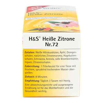 H&s Heisse Zitrone Vitaltee Filterbeutel  bei apotheke.at bestellen