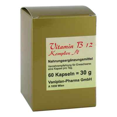 Vitamin B12+b6+folsäure Komplex N Kapseln  bei apotheke.at bestellen