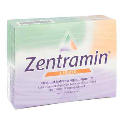 Zentramin liquid Trinkfläschchen  bei apotheke.at bestellen