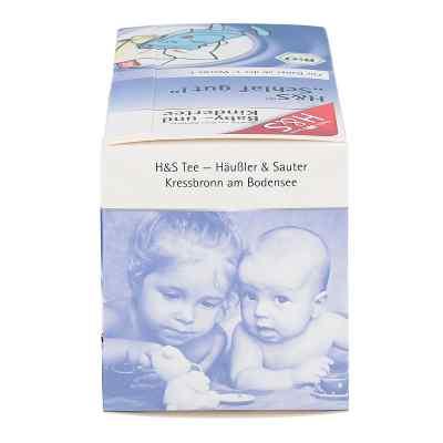 H&s Schlaf gut Bio Baby- und Kindertee Filterbeut.