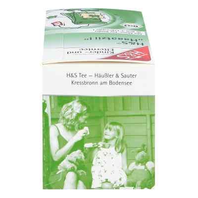 H&s Haaatzii Bio Kinder- und Elterntee Filterbeut.