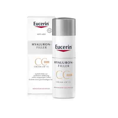 Eucerin Anti-age Hyaluron-filler Cc Cream hell  bei apotheke.at bestellen