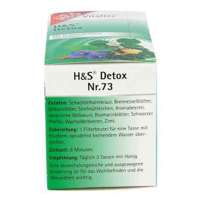 H&s Detox Vitaltee Filterbeutel
