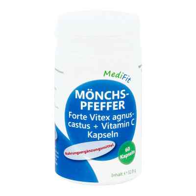 Mönchspfeffer Forte + Vitamin C Kapseln Medifit  bei apotheke.at bestellen