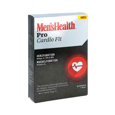 Men's Health Pro Cardio Fit Kapseln